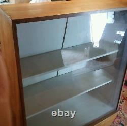000 Vintage York Cutlery Store Display Cabinet Glass Front Nice 3 Shelf