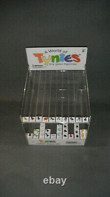 34 Tynies glass animals 26 Tynies boxes original Tynies store display