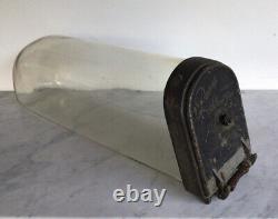 Antique PANAY Glass Horizontal Show Jar Counter Top Display Rare