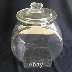 Antique Planters Peanuts Country Store Countertop Advertising Display Glass Jar