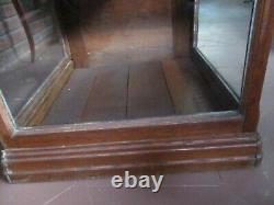Antique Store Display Glass Cabinet Showcase 23 x 23 x 22 1/2