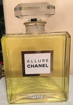 Chanel Allure Factice Store Display/Glass
