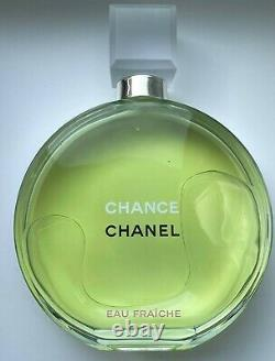 Chanel Display Store Factice Glass Bottle Chance Green 31 CM Vip Gift