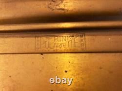 Early 1900's Brass, Glass, Electric Lighted CASHIER Sign