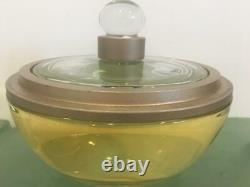Factice Store Display Glass Large Size Round Perfume Bottle Perry Ellis 360 PROP
