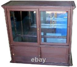 Flat-Top Nickel & Glass Jewelry Bakery Display Case For Stores