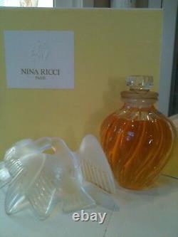 Lalique Nina Ricci Lair du Temp Perfume in Large 12 Store Display exquisite