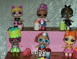 Lol Surprise 140 Piece Lot Pop Up Store Display Case Storage Pets Dolls & Extras
