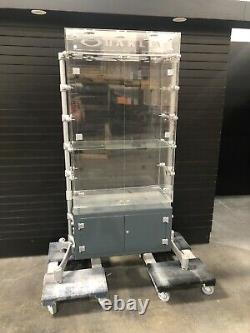Oakley Plexi Glass Double Wide Cabinet