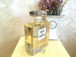 Rare Giant Glass Factice Chanel N°5 L'eau Store Display (2 Liters /not Perfume)