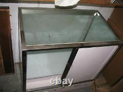 STORE RETAIL GLASS Display Case Fixture Furniture USED decent condition