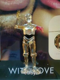 SWAROVSKI CRYSTAL Star Wars C-3PO GUCCI ADVERTISING CUSTOM ART STORE DISPLAY