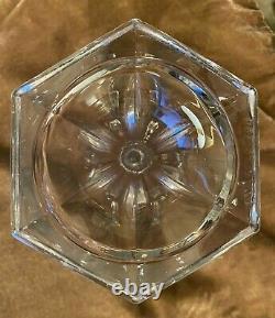 Set of 2 7 Glass Shelf Pedestal / Risers Possibly Westmoreland Mint Cond