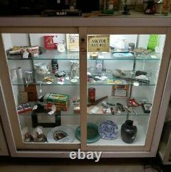 Store Display Showcases Lighted Sliding Glass Doors Shelves 5 units for $500.00