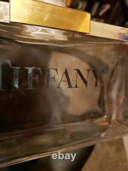Tiffany & Co Large Glass Factice Perfume Bottle Store Display