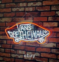 Vanns Real Glass Neon Light Sign Store Pub Display Neon Wall Sign