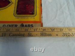 Vintage LYNX EYE Rear Lamp Tail Light Display Board