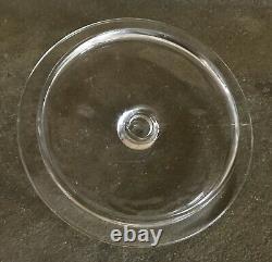 Vintage Minters Log Cabin Fudge 1¢ Glass Country Store Counter Display Jar/lid