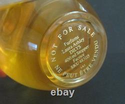 Vtg Laura Ashley DILYS Glass Store Display Factice Dummy Perfume Bottle HTF